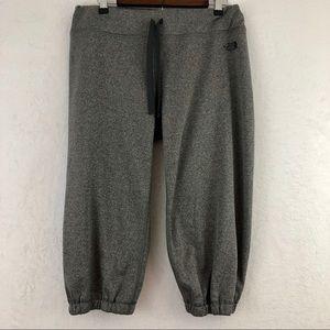 The North Face Gray Capri Sweatpants